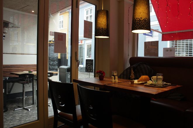 Is-cafe Ebeltoft interieur