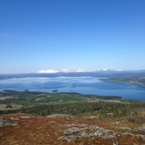 Climbed Suljätten, a Swedish mountain