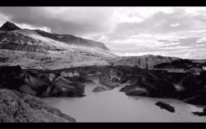 Melancholia, a black and white timelapse filmed in Iceland