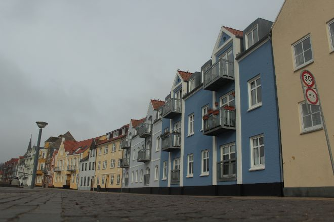 Sønderborg gekleurde huisjes / colorful homes