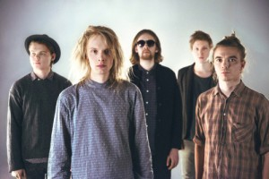 Press picture of the Finnish band NEØV